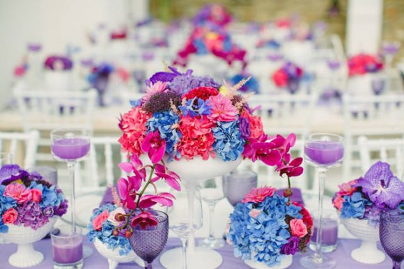 Colorful Wedding in Mykonos