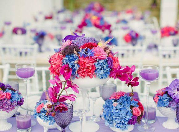 Colorful Wedding in Mykonos