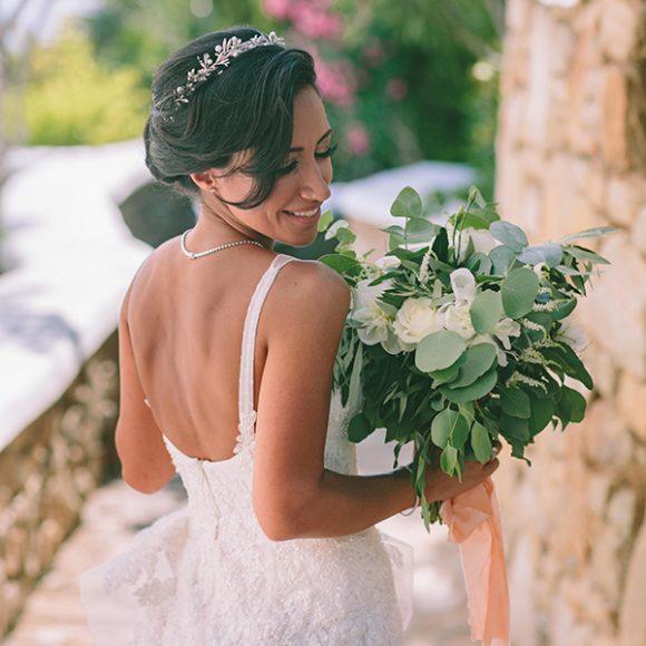 Elegant Chic Wedding Mykonos