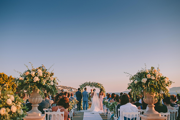 Elegant Chic Wedding Mykonos